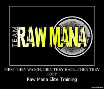 Raw Mana Strength and Conditioning