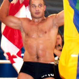 "David ""The Square"" Tkeshelashvili"