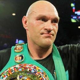 """Tyson """"The Gypsy King"""" Fury"""