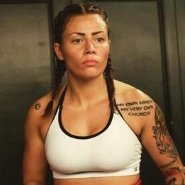 """Elvina """"Warrior"""" White"""