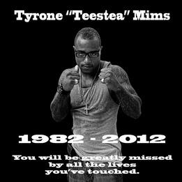 """Tyrone """"Teestea"""" Mims"""