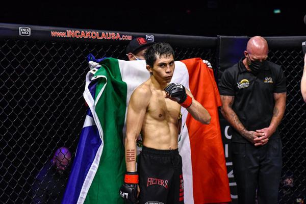 "Victor Altamirano (""El Magnifico"")   MMA Fighter Page   Tapology"