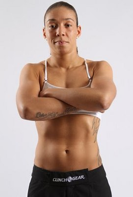 "Germaine ""The Iron Lady"" de Randamie"