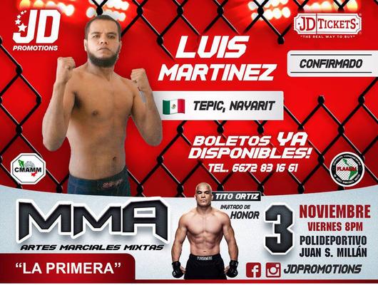 "Luis Antonio ""Metal"" Martinez"
