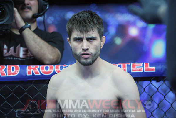 """The Natural Born Killer"" Carlos Condit"