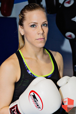 "Katlyn ""Blonde Fighter"" Chookagian"