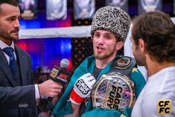 """Alexander """"AK-47"""" Keshtov"""