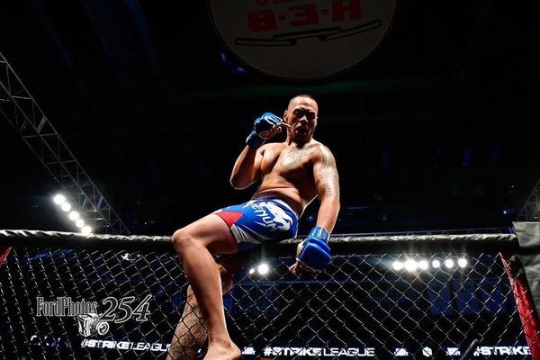 Fighter profie pic
