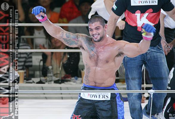 """""""The Brazilian Tiger"""" Ricardo Arona"""