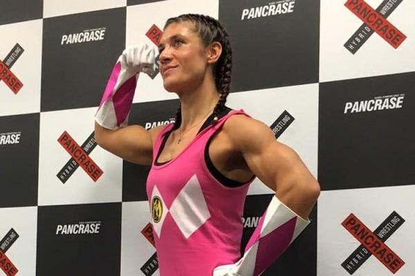 """Bryanna """"The Pink Ranger"""" Fissori"""