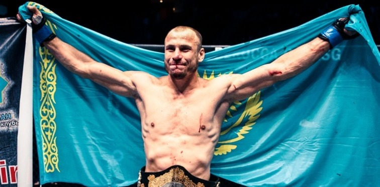 Igor Svirid the first Middleweight debut Champion