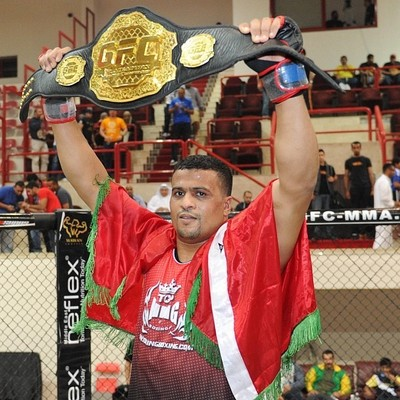 "Jawad ""The Golden FIghter"" Lhaymar"