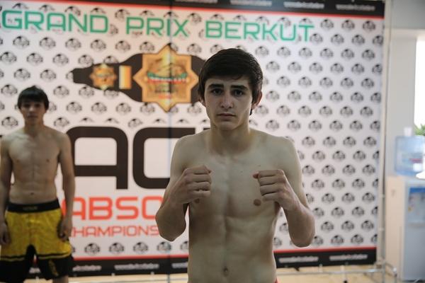 """Temryuk """"Tiger Cub"""" Berkhamov"""