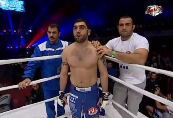 "Gusein ""Azeri Warrior"" Aliev"