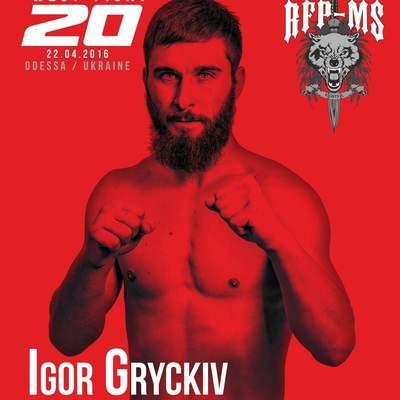 "Igor ""Cold King"" Grytskiv"