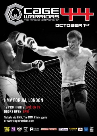 Cage Warriors 44