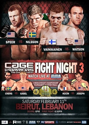 Cage Warriors Fight Night 3