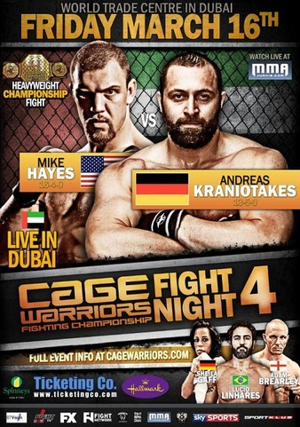 Cage Warriors Fight Night 4