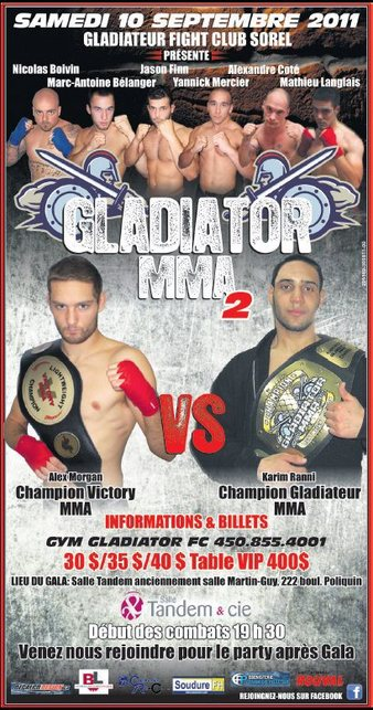 Gladiateur MMA 2