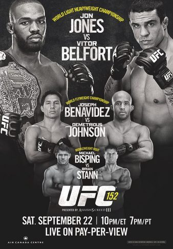 Ufc 152 fight card betting odds personal sports betting app