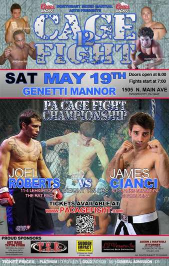 PA Cage Fight 12