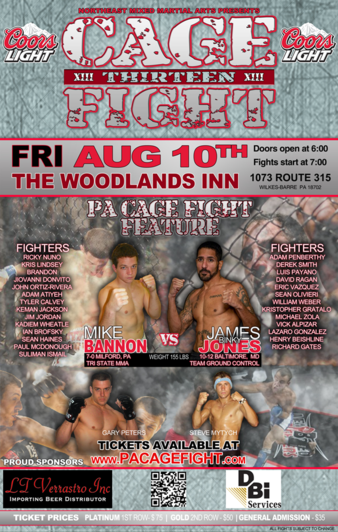 PA Cage Fight 13