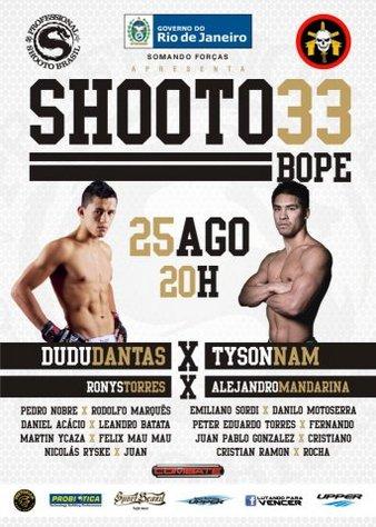 Shooto Brazil 33
