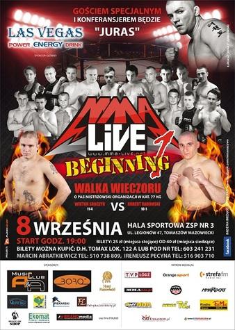 MMA Live 1