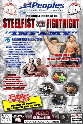 SteelFist Fight Night 12
