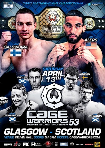 Cage Warriors 53