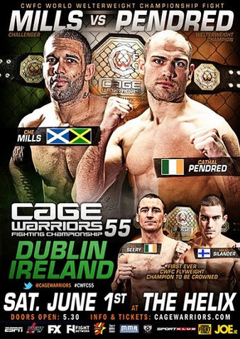 Cage Warriors 55