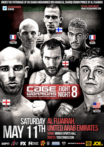 Cage Warriors Fight Night 8