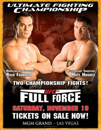 UFC 56: Full Force | MMA Event | Tapology