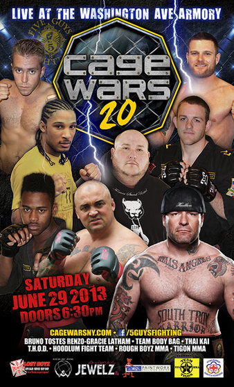 Cage Wars 20