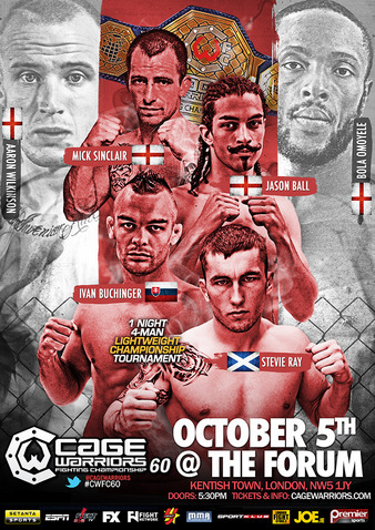 Cage Warriors 60