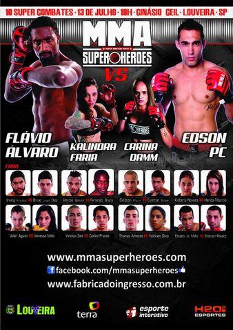 MMA Super Heroes 1