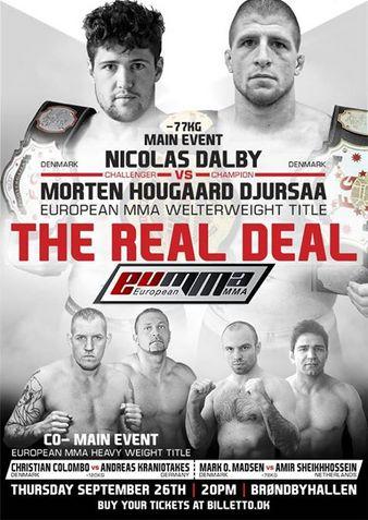 European MMA 6