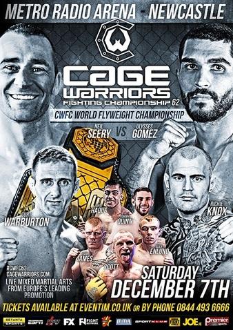 Cage Warriors 62