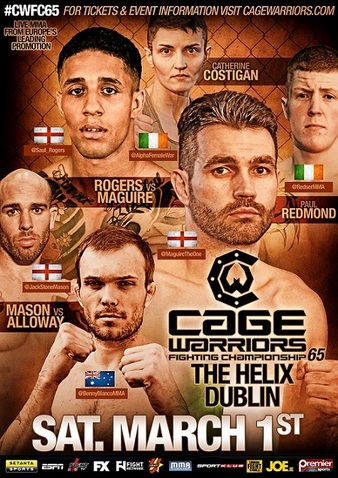 Cage Warriors 65