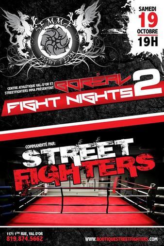 Boréal Fight Nights 2