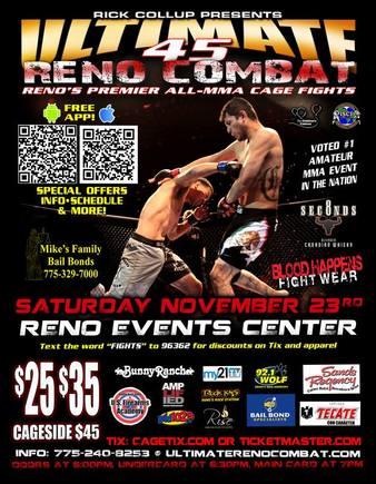 Ultimate Reno Combat 45