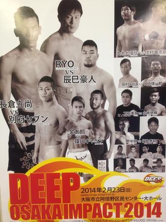 DEEP Osaka Impact 2014