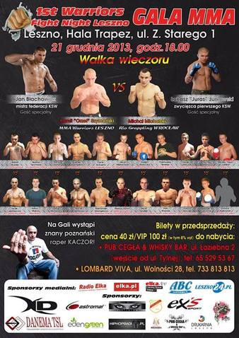 1st Warriors Fight Night