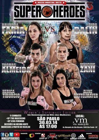 MMA Super Heroes 3