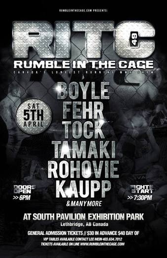 Rumble in the Cage 49