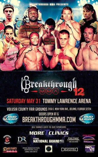 Breakthrough MMA 12
