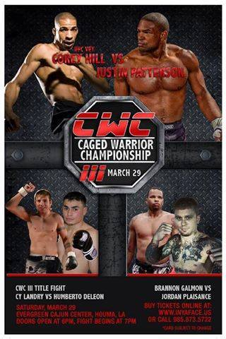 Caged Warrior Championship 3