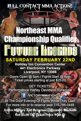 NE Amateur MMA Qualifier