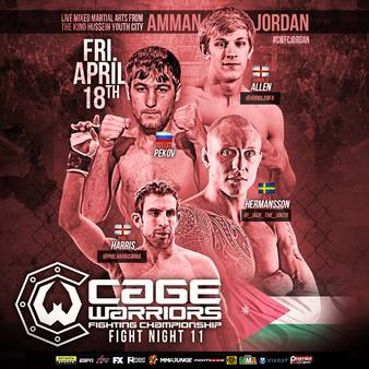 Cage Warriors Fight Night 11