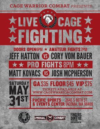 Cage Warrior Combat 14